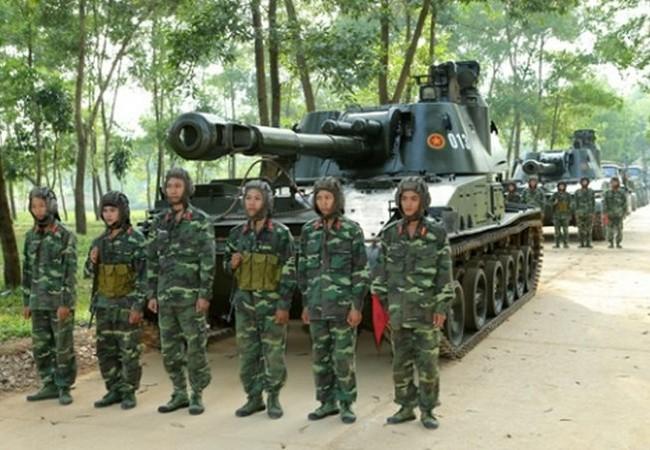 Pháo tự hành 2S3 Akatsiya Việt Nam