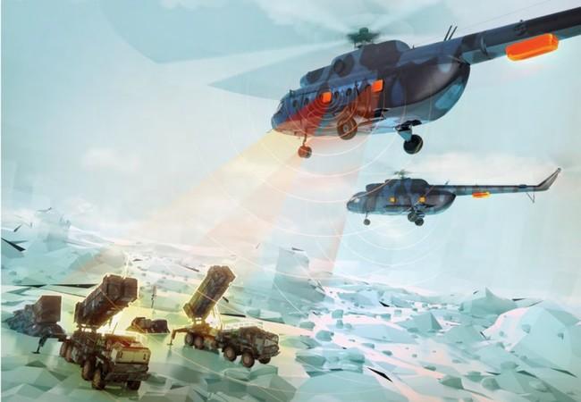 """Trực thăng vận tải Mi-8 trang bị bộ khí tài tác chiến điện tử """"bất khả xâm phạm"""""""