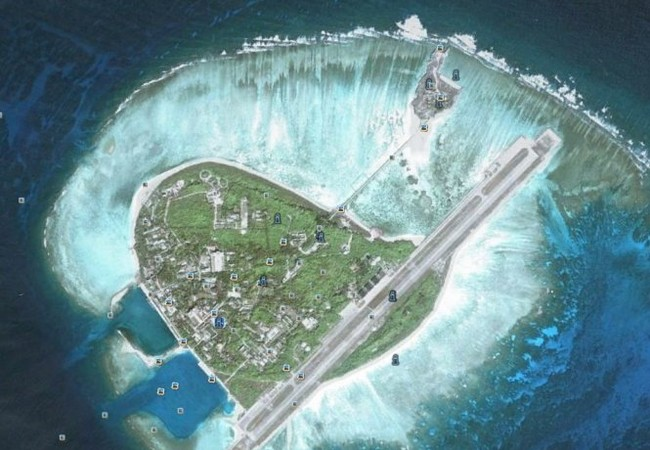 Đảo Ba Bình, đảo lớn nhất trong quần đảo Trường Sa của Việt Nam hiện đang bị Đài Loan chiếm đóng trái phép - Ảnh: Wikipedia