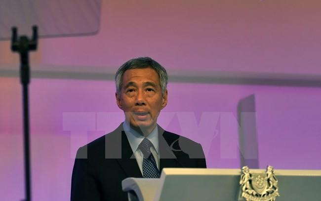 Thủ tướng Singapore Lý Hiển Long. (Nguồn: AFP/TTXVN)
