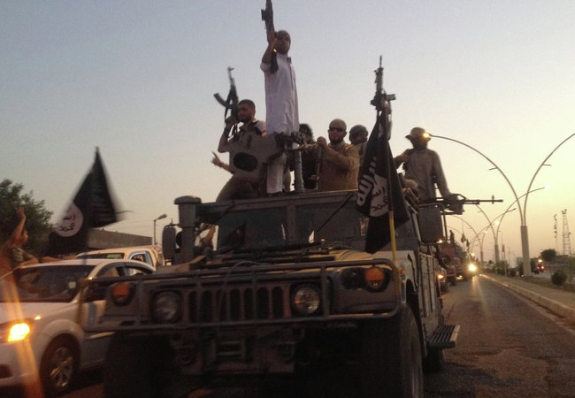 IS đã chiếm được một kho dự trữ vũ khí lớn tại Ramadi, Iraq. (Ảnh: AP)