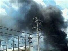 Cháy công ty hóa chất trong Khu công nghiệp Hoàng Gia