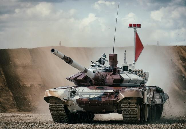Xe tăng Kazakhstan đứng vị trí thứ 2 cuộc đua