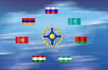 Cờ của diễn tập Hiệp đồng 2015 tại Belarus