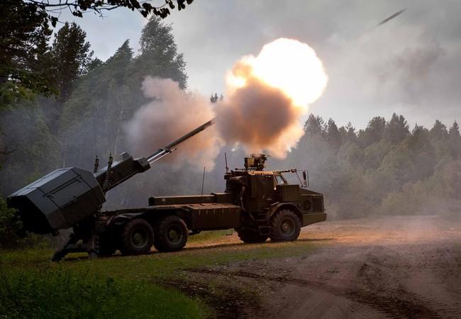 hệ thống lựu pháo BAE  - 155mm Archer Thụy Điển