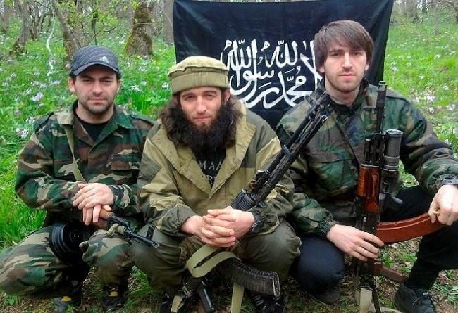 Chỉ huy khủng bố IS Bắc Kavkaz Rustam Aselderove.và đồng bọn