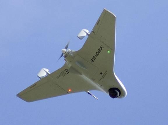 Những cảnh quay của máy bay không người lái Nga ở Syria