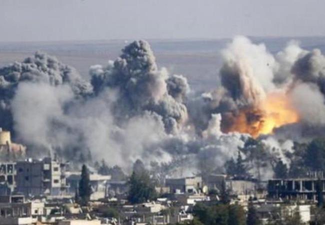 Không quân Syria không kích