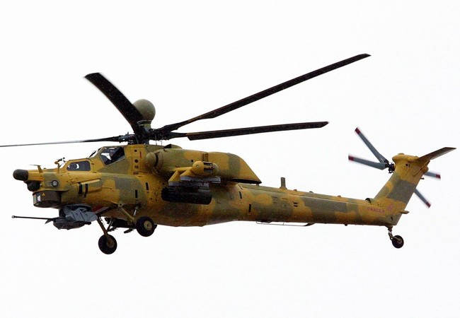 "Clip: Mi-28 ""Thợ săn đêm"" Iraq săn khủng bố IS"