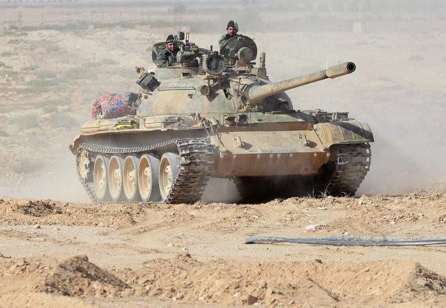 Quân đội Syria chuẩn bị giành lại Palmyra