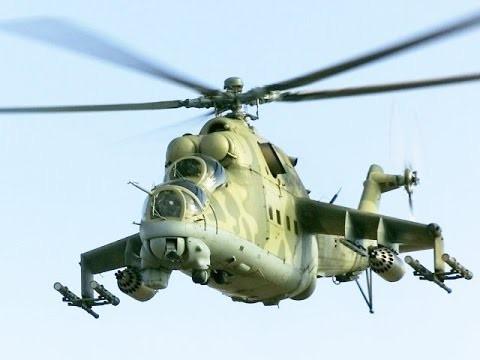 Cận cảnh Mi-24 không quân Nga yểm trợ quân đội Syria tấn công Palmyra