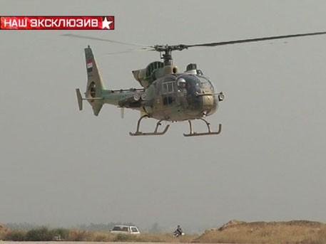 Video: Trực thăng Syria dũng mãnh bảo vệ thành Damascus