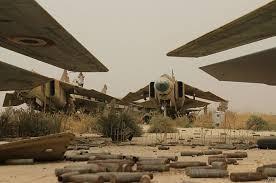 Những chiếc MiG 23 cổ lỗ nát bươm vì chiến tranh