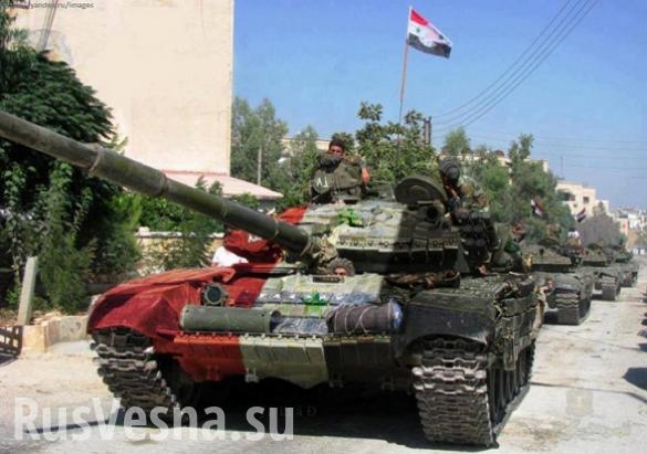 Quân đội Syria đập tan tuyến phòng ngự ở Homs, tiêu diệt nhiều phiến quân IS