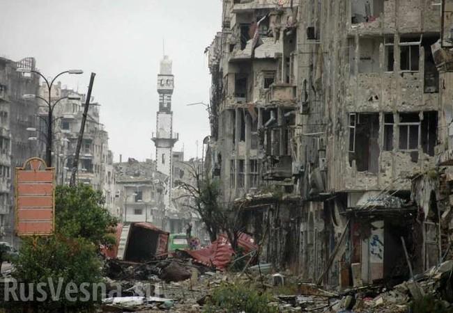 Thành phố cổ Palmyra bị tàn phá điêu tàn