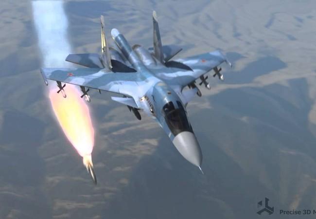 Không quân Nga dọn đường cho quân đội Syria tấn công, hàng trăm chiến binh IS hạ súng