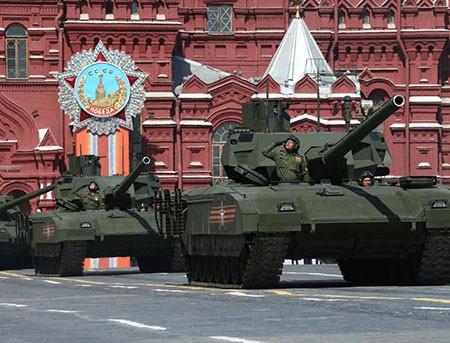 Xe tăng T-14 Armata nhận tên gọi của lính Masha