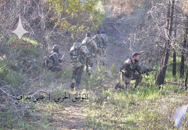 Quân đội Syria điều đặc nhiệm chuẩn bị tấn công Salma, Latakia