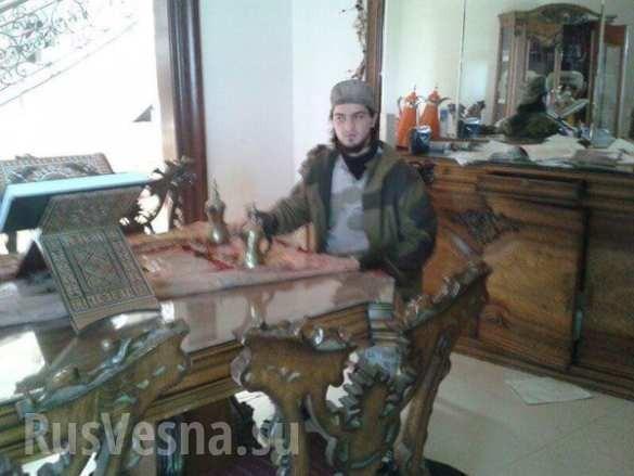 Quân đội Syria tiêu diệt thủ lĩnh khủng bố Bắc Caucasus Abu Hamza