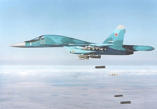 Choáng với UAV Nga chỉ thị mục tiêu không kích IS