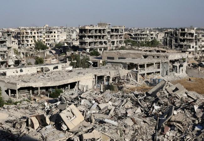 """Video: Quận """"ma"""" Jobar, khốc liệt và kinh hoàng chiến sự tại Damascus"""