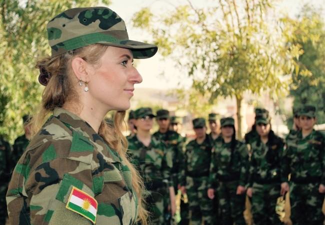Video: Nữ chiến binh lữ đoàn Sun Brigade người Kurd