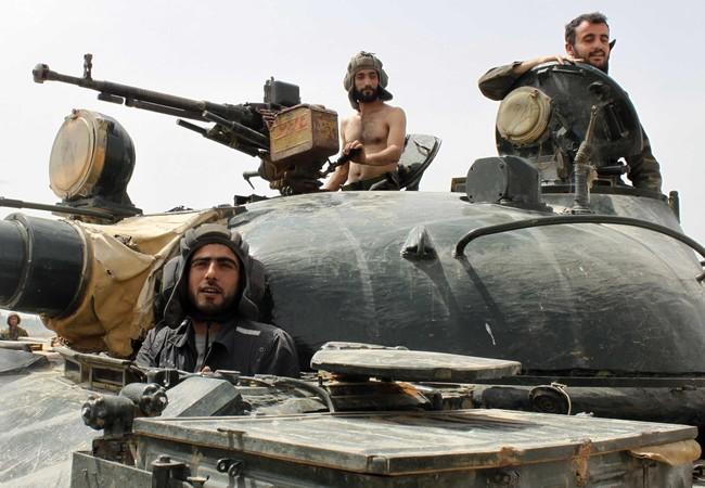 Đánh chiếm chốt phiến quân, quân đội Syria diệt hàng chục tay súng khủng bố