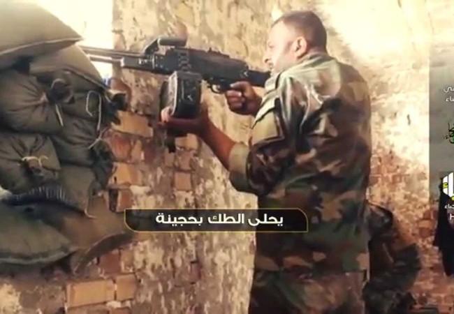 """Video: Hezbollah Iraq """"nướng"""" xe thiết giáp IS ở Syria"""