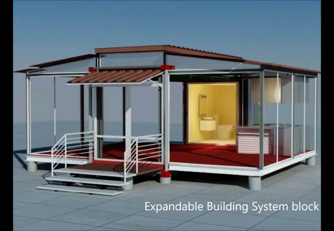 MobineHome - biệt thự trong container