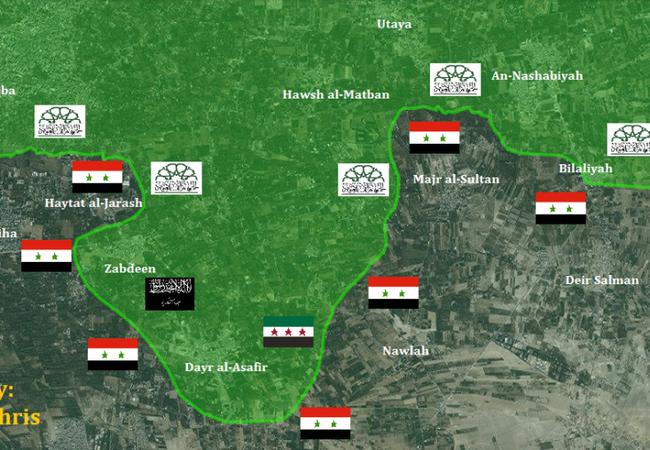 Các nhóm nổi dậy trước nguy cơ bị vây ở Đông Ghouta