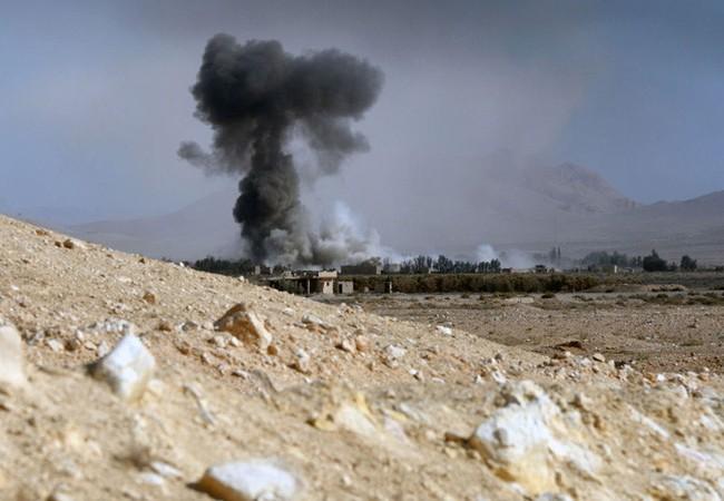 Quân đội Syria phản công tại thành phố cổ Palmyra