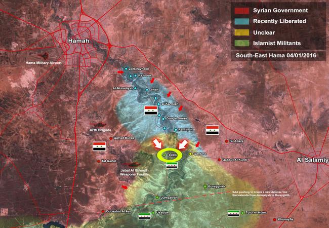 Quân đội Syria giao tranh dữ dội ngày đêm với khủng bố
