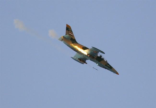 Không quân Syria săn lùng khủng bố ngoại vi Damascus