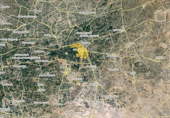 Quân đội Syria mở rộng tấn công từ sân bay Marj al-Sultan