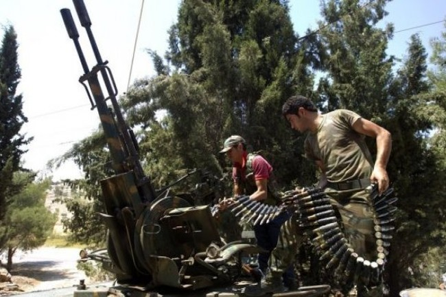 Quân đội Syria chiếm 20 tòa nhà ở Sheikh Miskeen