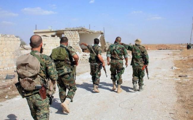 Quân đội Syria tiếp tục tấn công ở miền Nam Aleppo