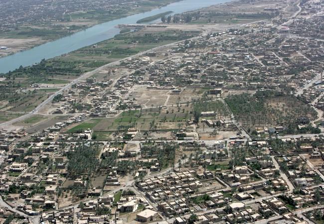 Một góc thành phố Ramadi, Iraq