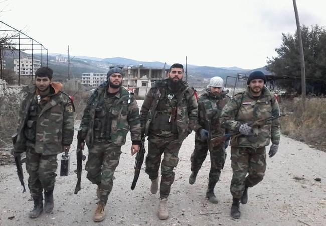 Quân đội Syria giành Tartiyah ở bắc Latakia , Salma trong tầm bắn