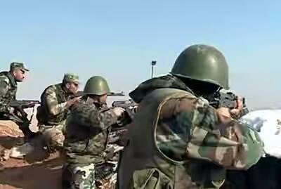 Quân đội Syria chiếm làng Harbnafsah miền Bắc tỉnh Homs