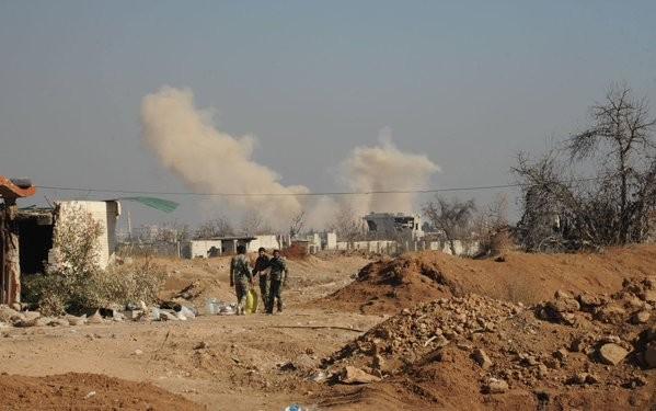 Quân đội Syria, Hezbollah tấn công IS trên dãy núi Qalamoun