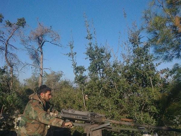 Lữ đoàn 103 giành 3 điểm cao quanh thị trấn Al-Rabi'yah
