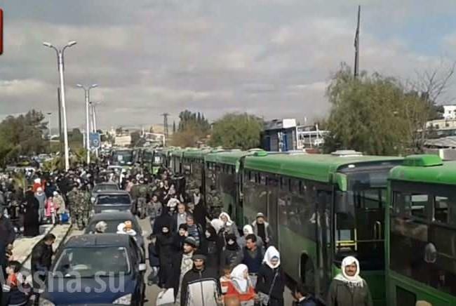 Hơn 4000 tay súng IS, Al-Nusra sẽ phải rời bỏ ngoại vi Damascus