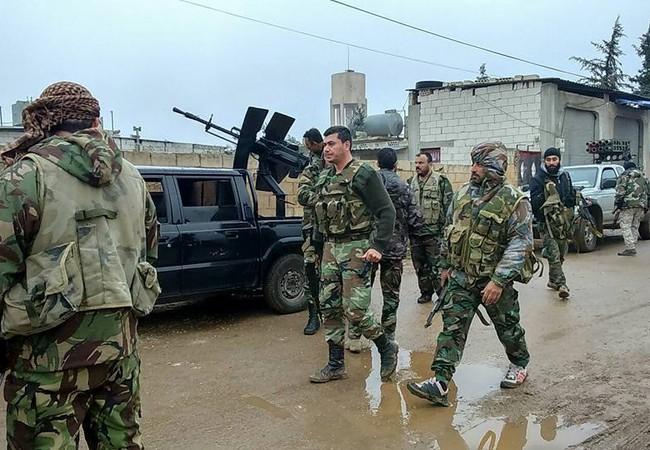 Quân đội Syria tiếp tục tấn công ở miền Nam Hama
