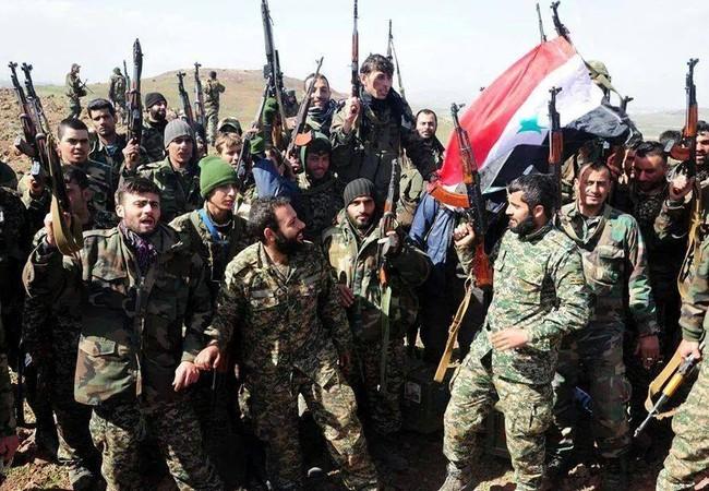 Lữ đoàn 103 bao vây sào huyệt Hồi giáo cực đoan ở Latakia