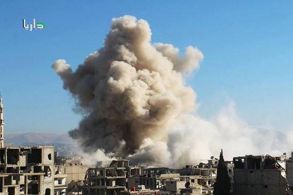 """Video: Cận cảnh thành phố """"ma"""" hoang tàn Darayya, Damascus"""