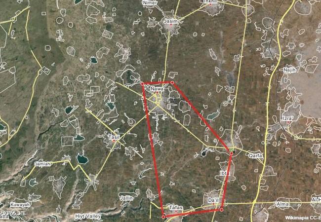 Quân đội Syria tập trung lực lượng ở Sheikh Miskeen đánh vào Nawa và Ibta