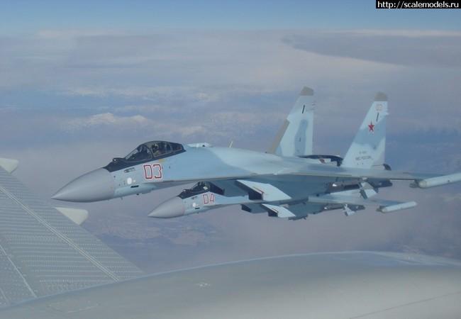 Vì sao Nga đưa máy bay tiêm kích siêu hiện đại Su-35S đến Syria?