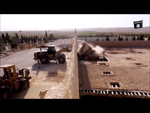 Video: Cận cảnh thị trấn Al-Qaryatayn trong tay IS