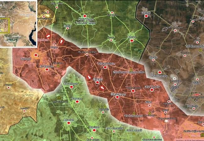 Không quân Syria không kích diệt hàng chục tay súng khủng bố ở Hama
