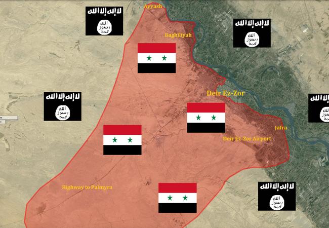 Video: Cận cảnh cuộc chiến chống IS ở thành phố Deir-Ezzor